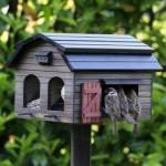 Schwedenvogelhaus für den Garten
