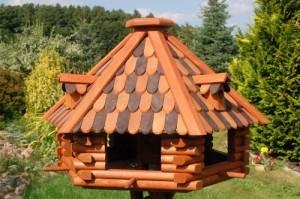 Luxus Vogelhaus, Vogelhäuser + imprägniert