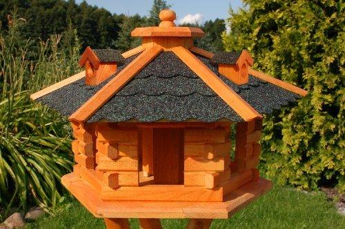 Vogelhaus mit Bitumschindeln