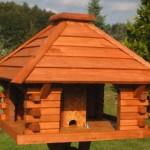stabiles Futterhaus-Vogelhaus – die Körnertankstelle