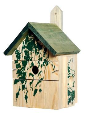 Vogelhaus Camouflage