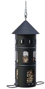Vogelhaus schwarz schweden stil