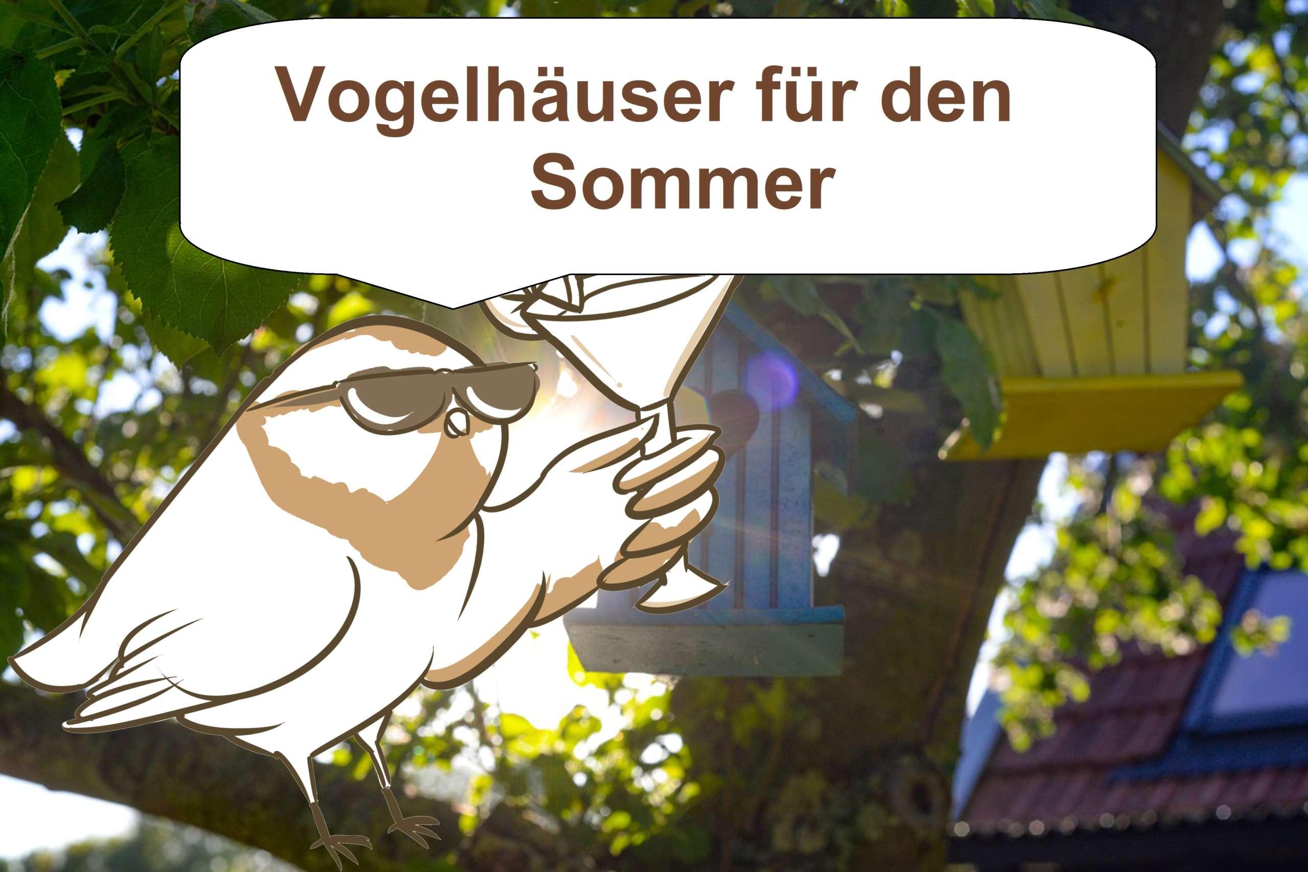 Vogelhaus Sommer