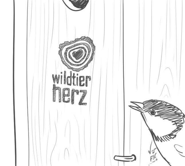 Wildtierherz Haus